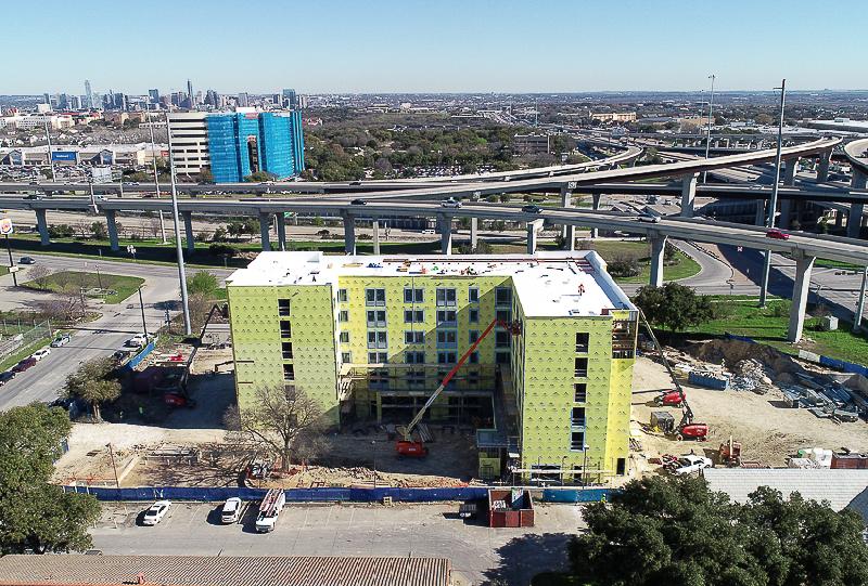 Sabot Development_Aloft Hotel Construction